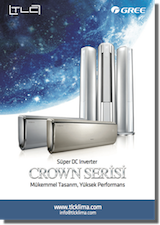 Gree Crown Serisi Klima Kataloğu